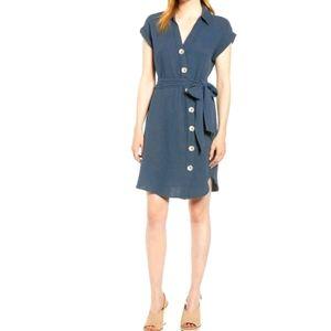 1. State Prairie Dance Asymmetrical Shirt Dress